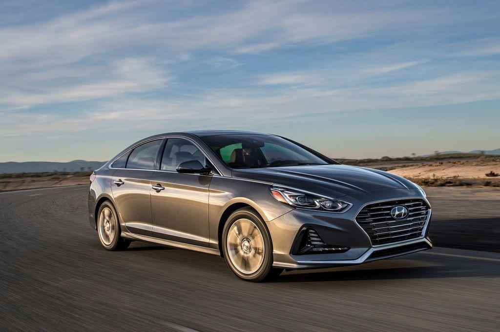 giá bán Hyundai Sonata 2018 chỉ từ 500 triệu đồng tại Mỹ
