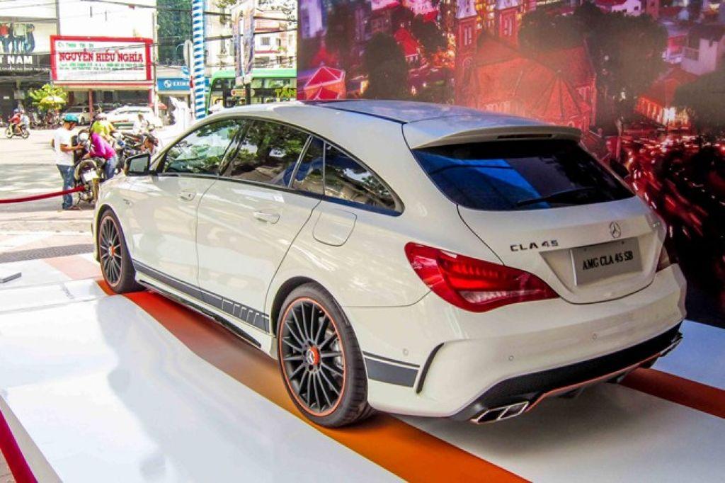 Kết quả hình ảnh cho phiên bản Mercedes CLA45