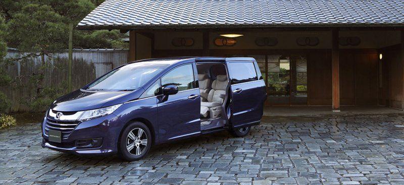 Honda Odyssey nhập khẩu từ Nhật sẽ về ra mắt Việt Nam tại VMS 2015, giá khoảng 2 tỷ đồng