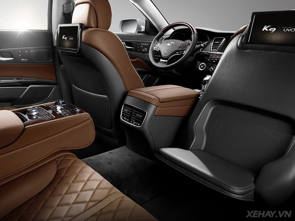 Kia K9 2016 trang bị thêm động cơ V6 và ngoại thất mới