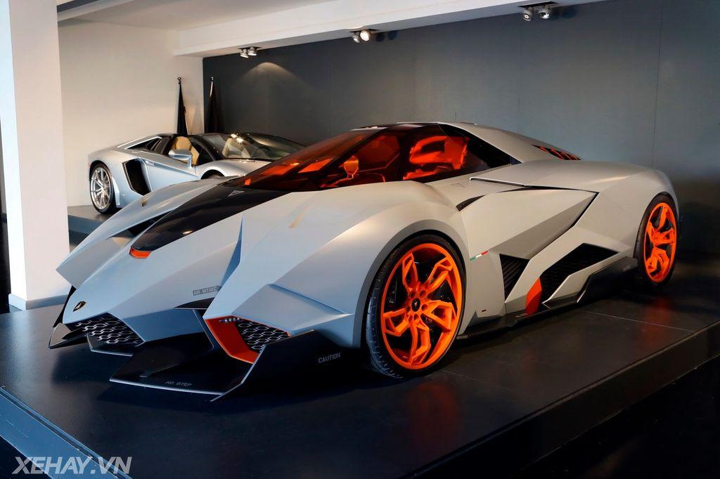 Sieu Xe Khong Thể Xuống Phố Lamborghini Egoista Sẽ Co Phien Bản