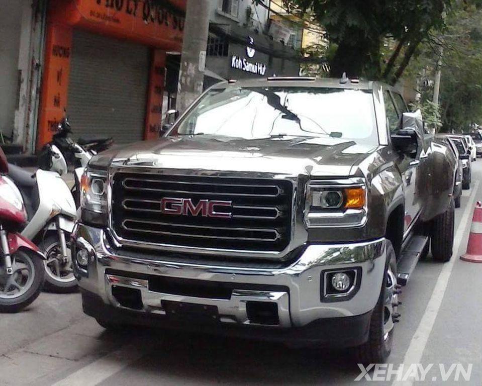 Tóm gọn siêu bán tải GMC Sierra 3500HD đầu tiên tại Việt Nam