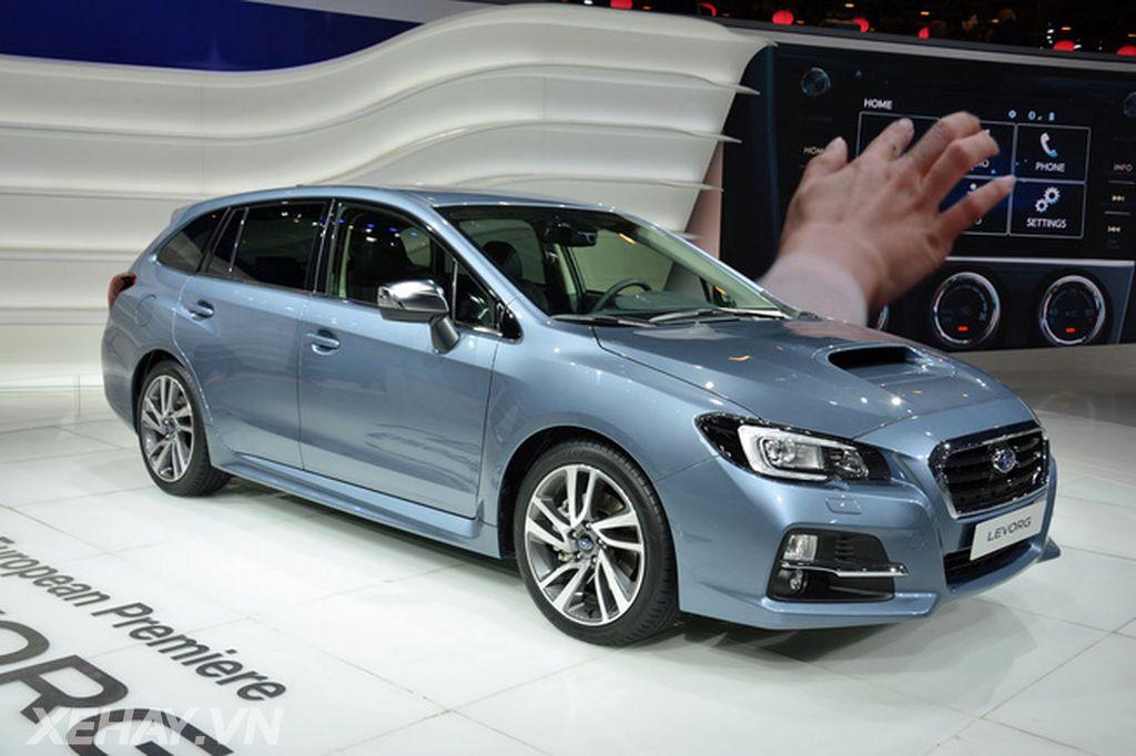 Subaru Levorg trở nên an toàn hơn với công nghệ EyeSight