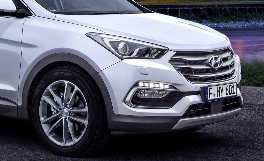 Hyundai Santafe 2016 chở tiền Bắt gặp Hyundai Santafe 2016 chở tiền tại TP. Hồ Chí Minh xehay SantaFe2016 040915 1