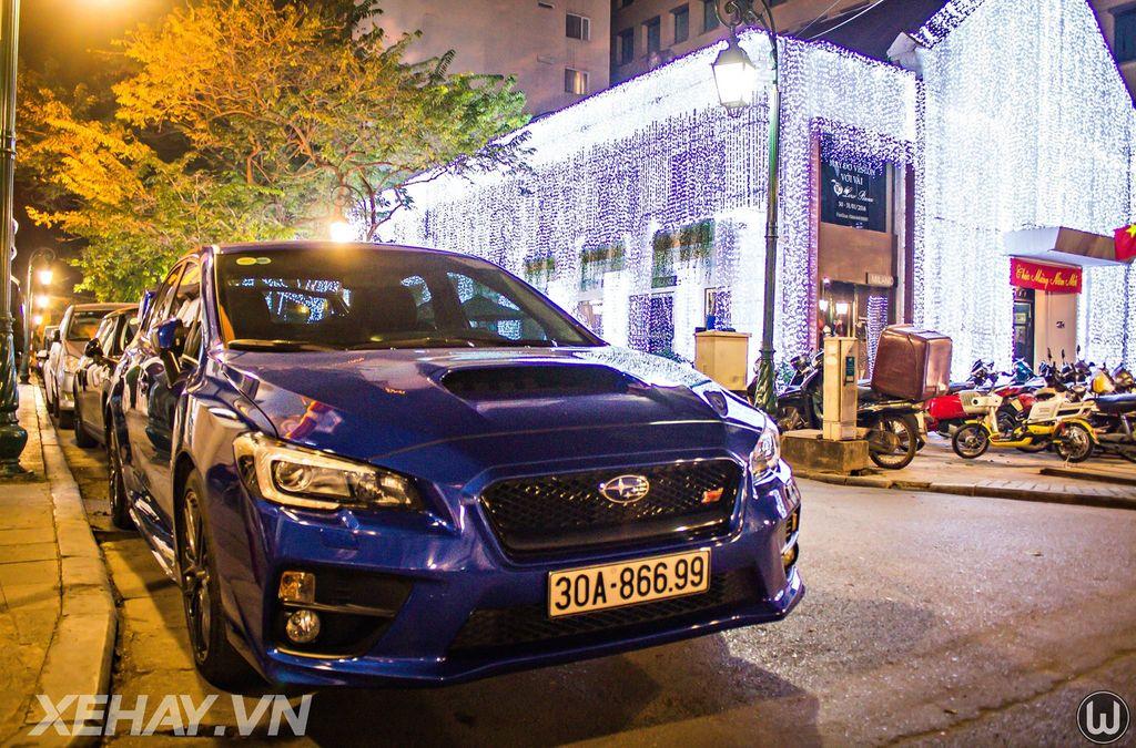 """""""Tóm gọn"""" Subaru WRX STI 2015 hàng hiếm giữa Thủ Đô"""