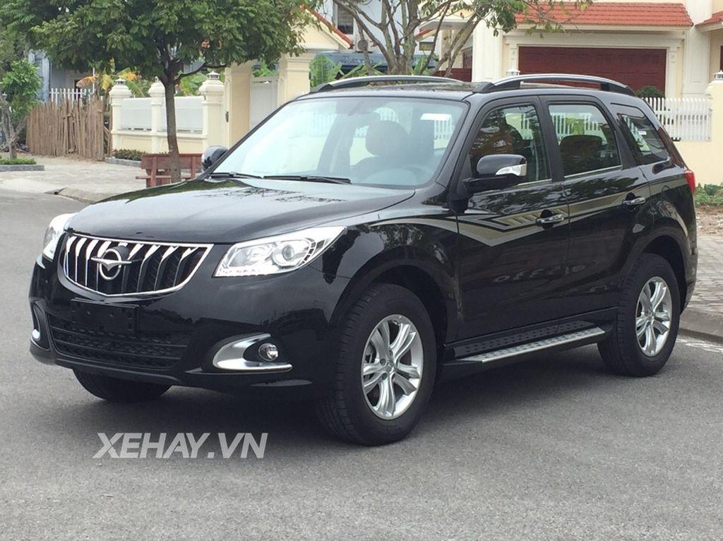 Chi tiết SUV Trung Quốc Haima S7 giá 588 triệu tại Việt Nam