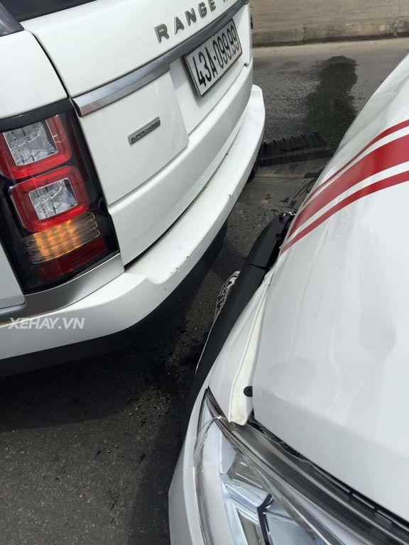 Range Rover va chạm xe Hyundai & cái kết....