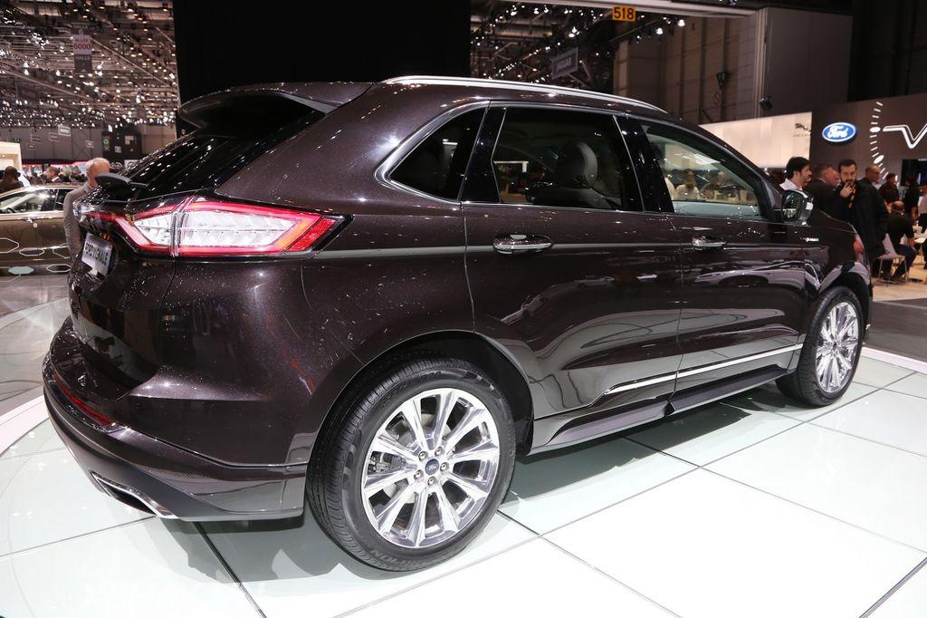 Ford Edge Vignale >> Edge Vignale là mẫu xe phong cách nhất của Ford