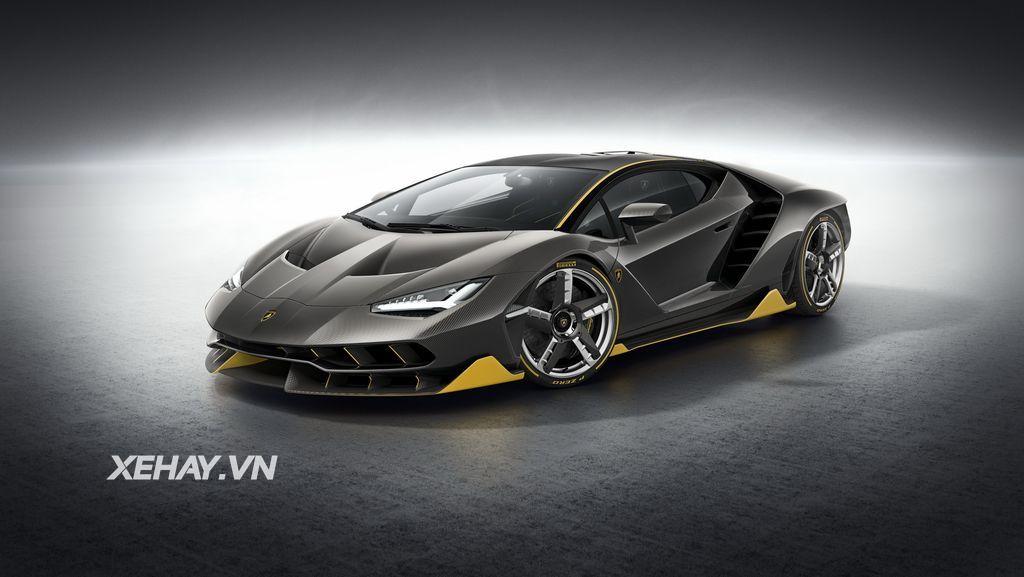Chinh Thức Co Thong Số Kỹ Thuật Va Gia Ban Của Lamborghini Centenario