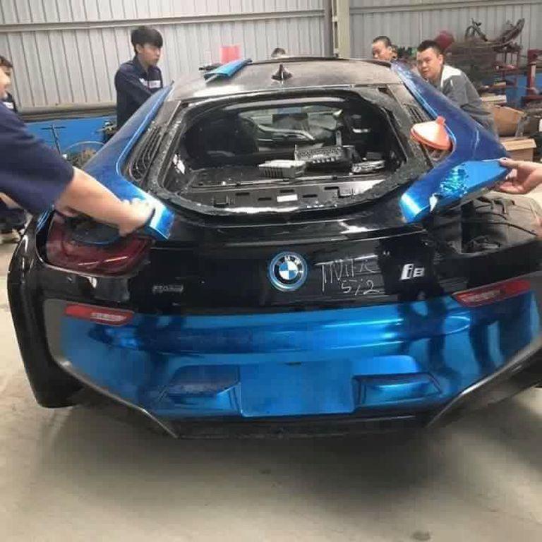 """BMW I8 """"có Số Phận Bi đát Nhất Việt Nam"""" Sẽ Sớm Tái Xuất"""