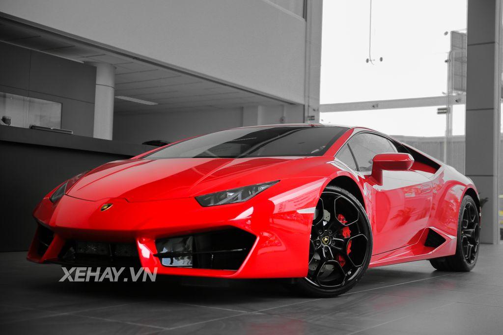 Cận Cảnh Từng Chi Tiết Của Lamborghini Huracan Lp580 2
