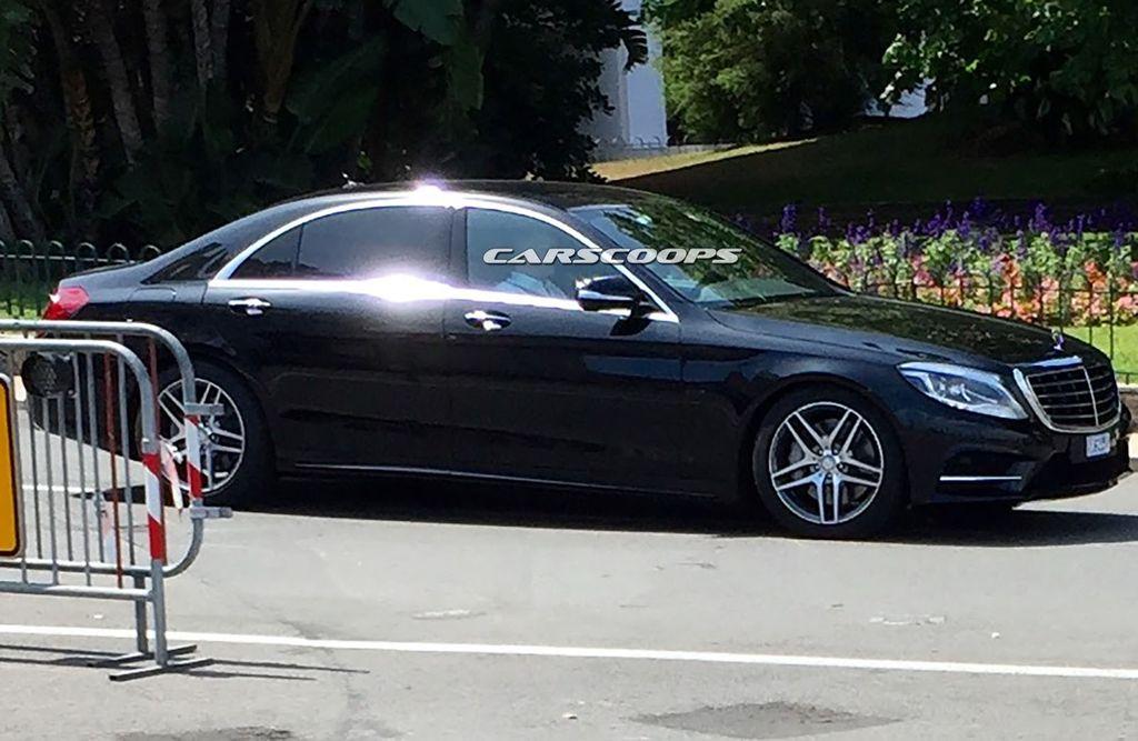 Mercedes-Benz S-Class 2017 bản nâng cấp bị lộ hình ảnh? 5