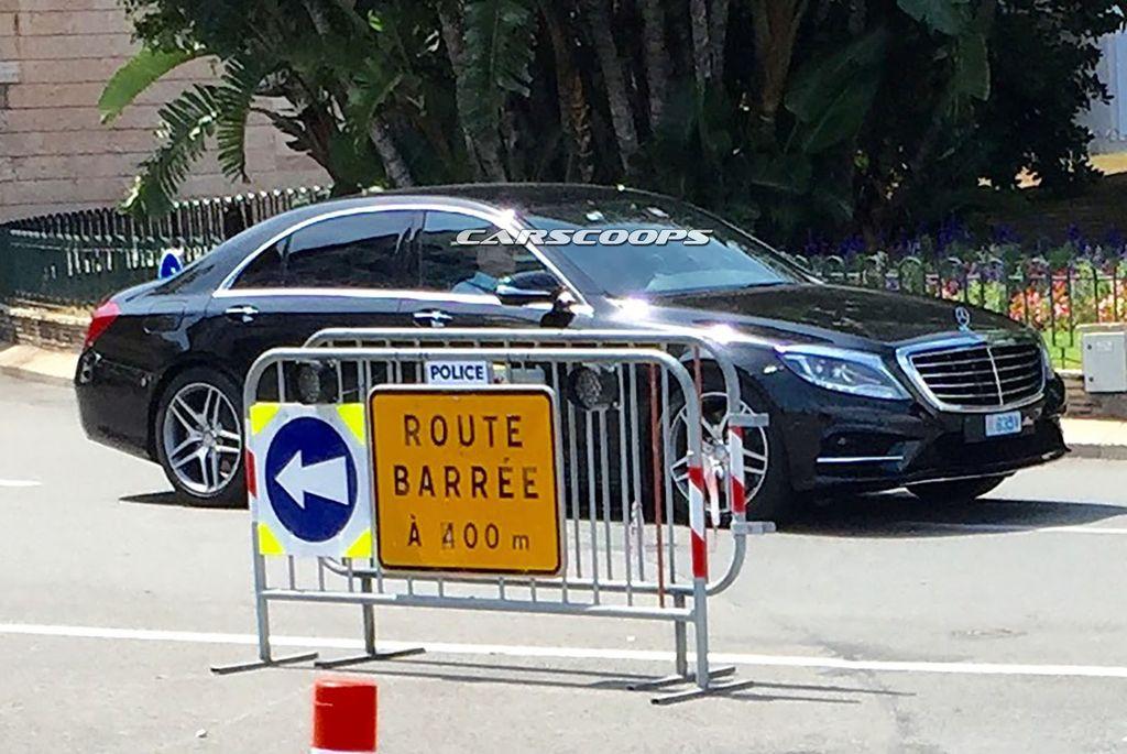 Mercedes-Benz S-Class 2017 bản nâng cấp bị lộ hình ảnh? 4