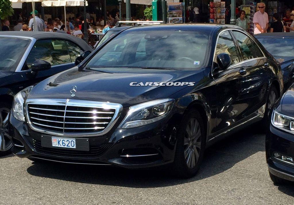 Mercedes-Benz S-Class 2017 bản nâng cấp bị lộ hình ảnh?