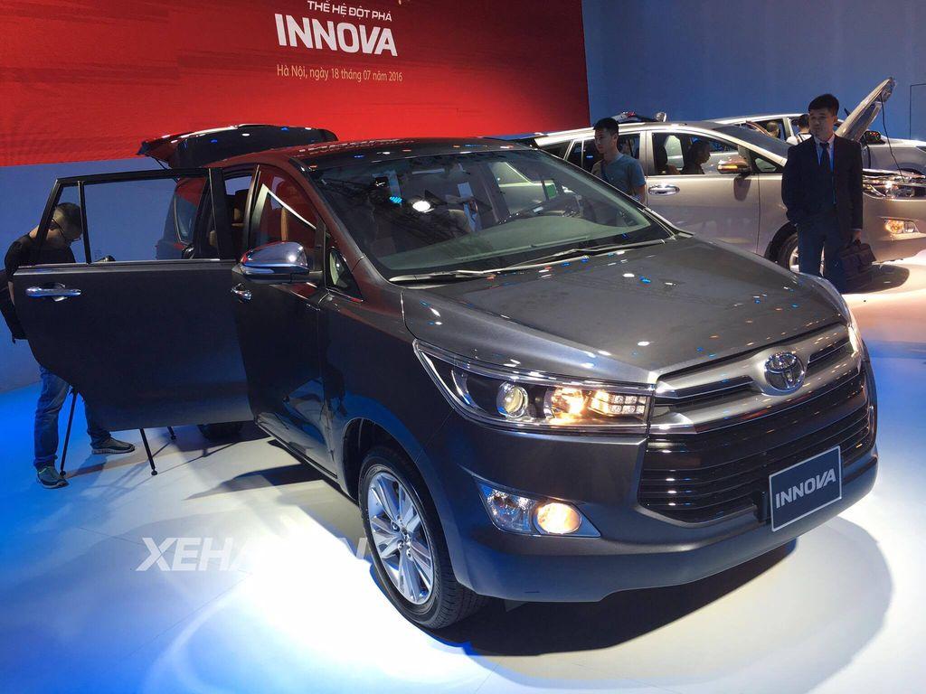 [ĐÁNH GIÁ XE] Toyota Innova 2.0G 2016 vừa về Việt Nam, giá 859 triệu đồng