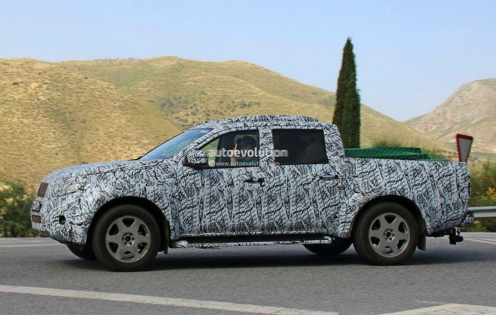 [VIDEO] Xe bán tải Mercedes GLT 2018 tiệm cận sản xuất hàng loạt - ảnh 14