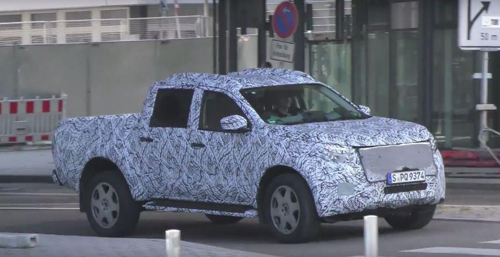 [VIDEO] Xe bán tải Mercedes GLT 2018 tiệm cận sản xuất hàng loạt - ảnh 7