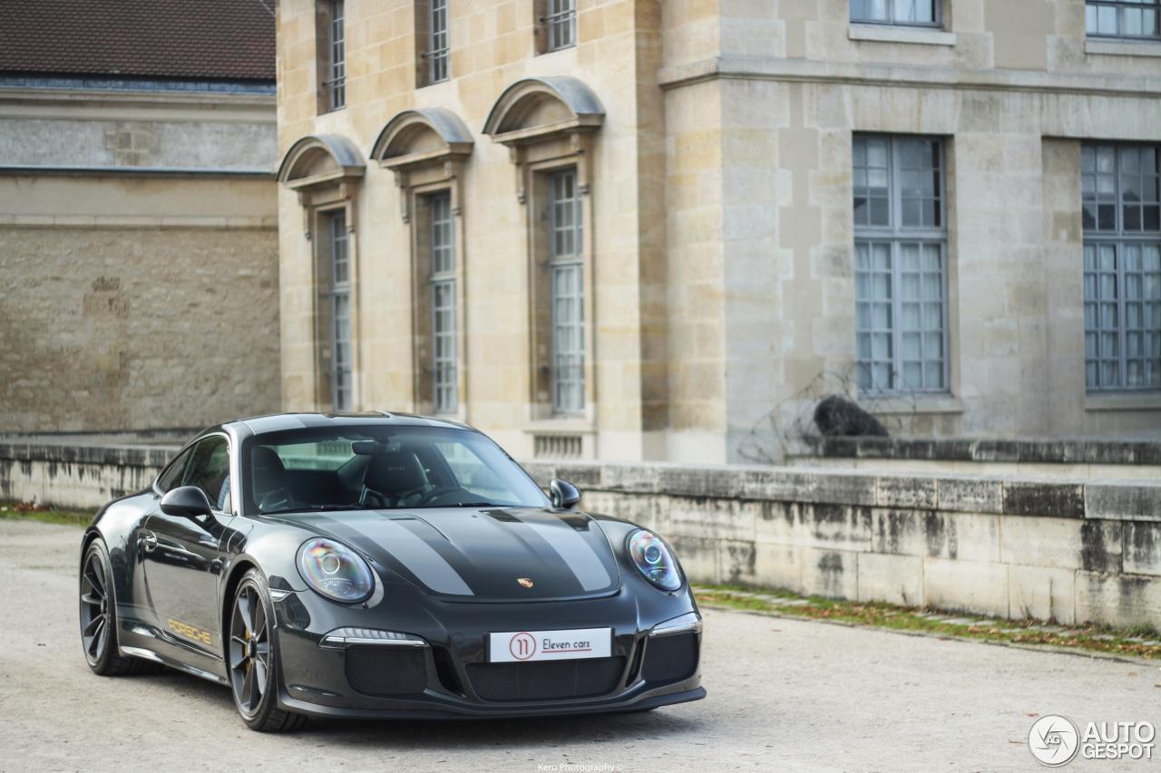 Xuất hiện Porsche 911 R màu đen phong cách tại Paris 5
