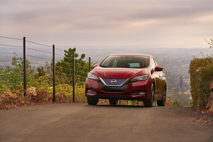 Khám Phá SUV điện Nissan Leaf 2018 trước ngày ra mắt
