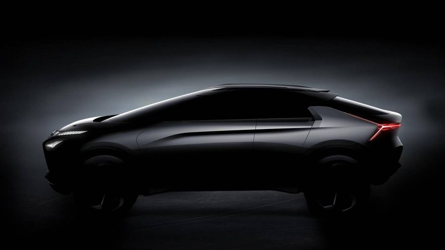 Xem trước Mitsubishi e-Evolution concept trước ngày ra mắt