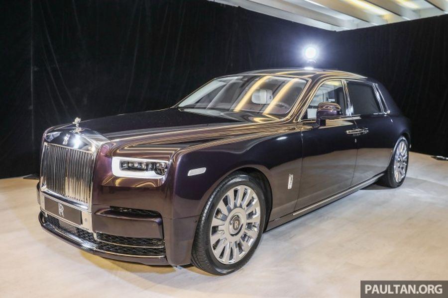 Rolls-Royce Phantom 2018 ra mắt chốt giá bán tại DNA