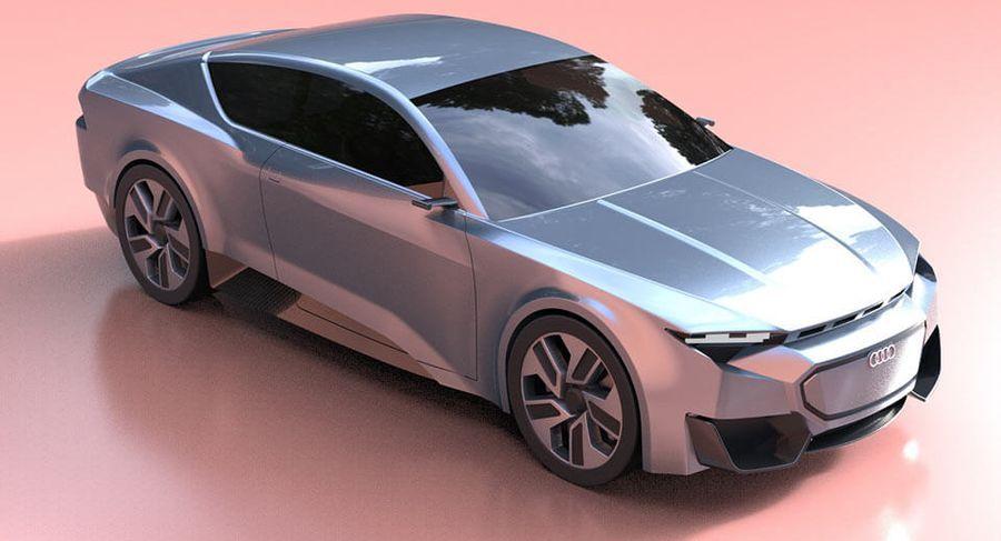 Khám phá Audi GT thiết kế bởi một sinh viên săp tốt nghiệp