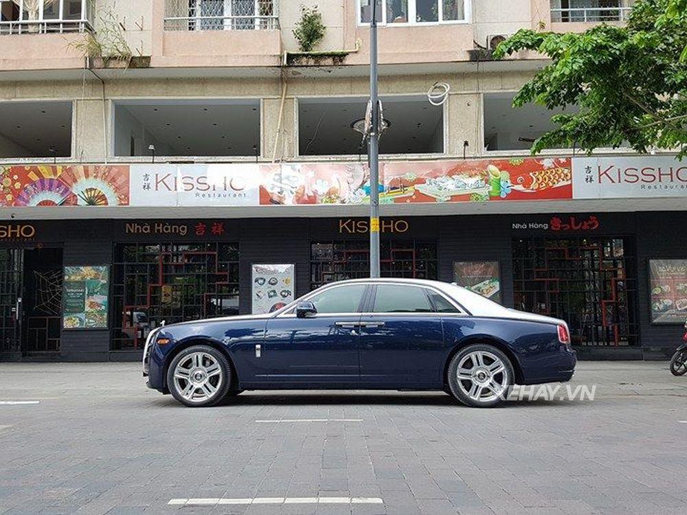 Dang Xe Rolls Royce >> Rolls-Royce Ghost Series II liên tục bị bắt găp trên phố Sài Gòn | Tin Công Nghệ - Phim Ảnh