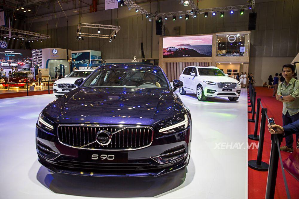 Chi tiết Volvo S90 2018 ra mắt tại VIMS 2017