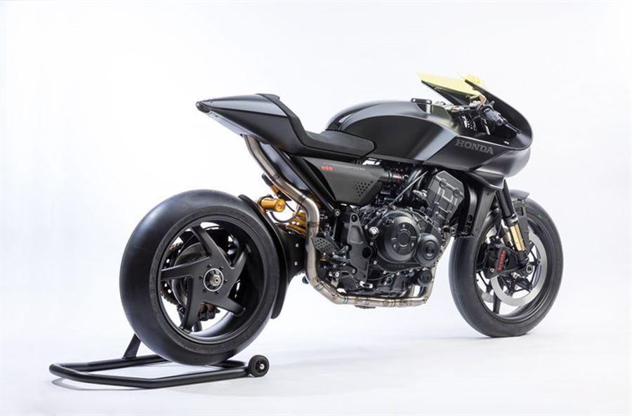 Honda đưa thiết kế cổ điển pha trộn hiện đại vào Honda CB4 Interceptor concept - Hình 2