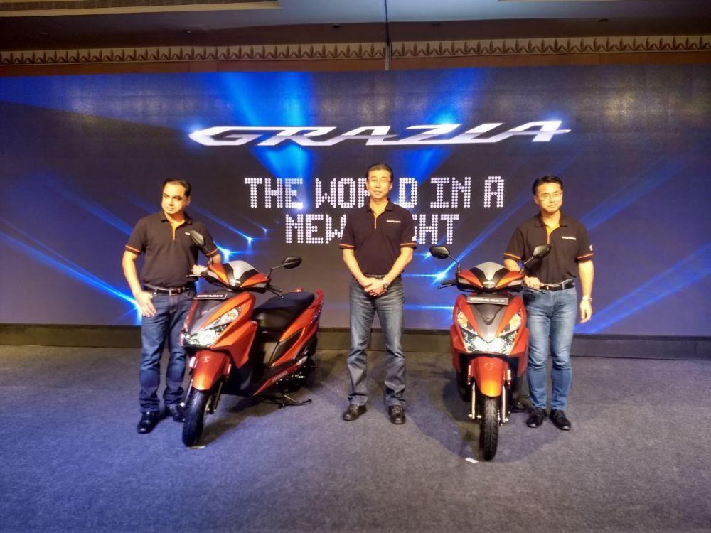 """Honda chính thức vén màn mẫu xe ga tay Grazia 125 phân khối giá """"mềm"""" - Hình 2"""