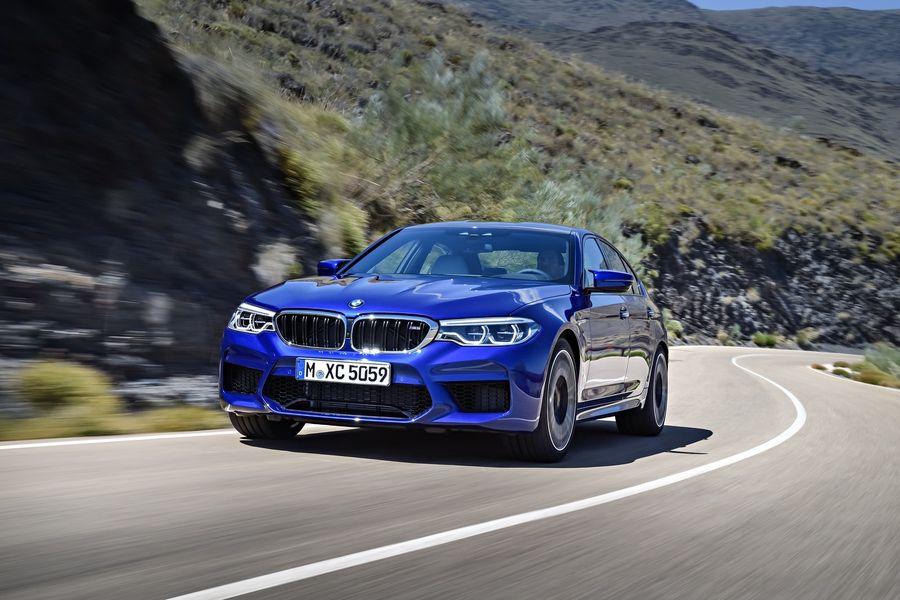 BMW M5 2018 ra mắt lộ giá bán