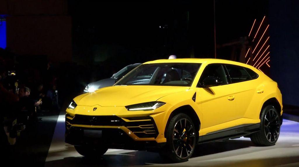 Sieu Suv Lamborghini Urus Chinh Thức Trinh Lang Gia Dự Kiến 200 000 Usd
