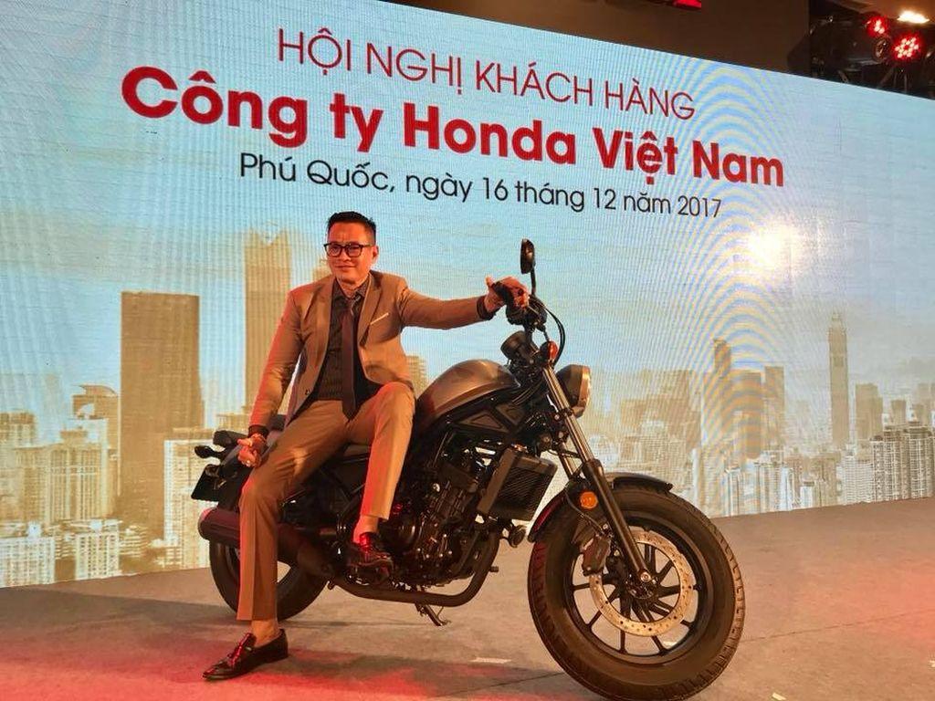 Honda Việt Nam công bố chính thức phân phối mẫu cruiser Rebel 300 - Hình 1