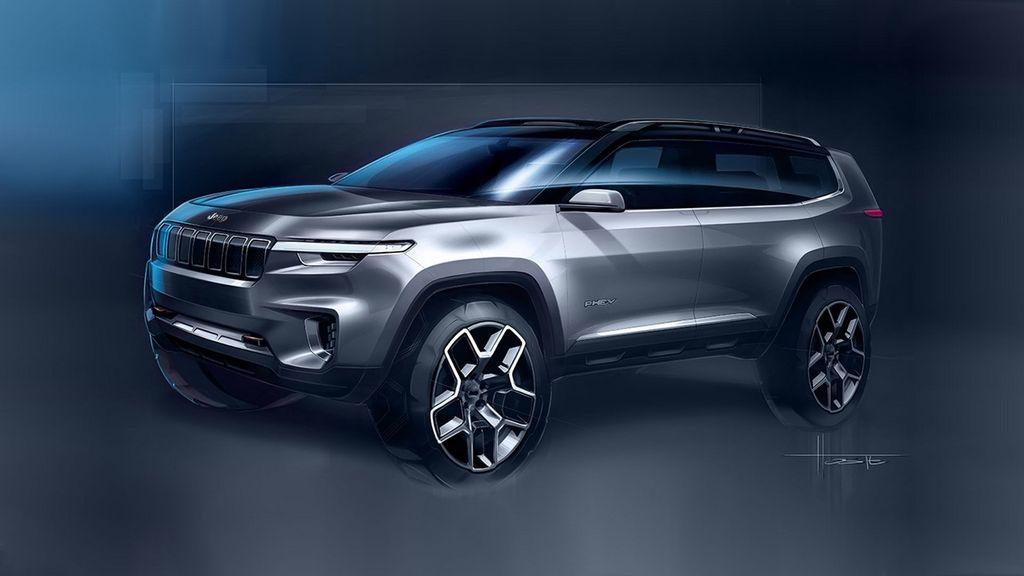 Jeep Yuntu SUV concept 7 chỗ sẽ chính thức được giới thiệutại Thượng Hải