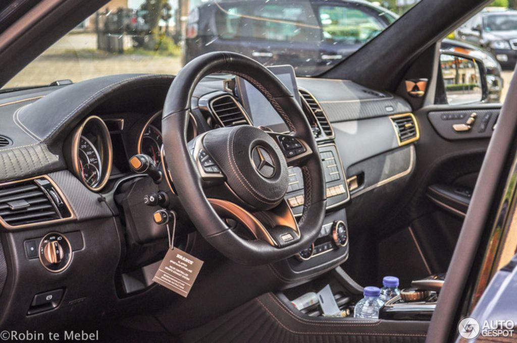 Bắt Gặp Brabus 850 Xl Bản độ Cao Cấp Của Mercedes Amg Gls 63 Tại