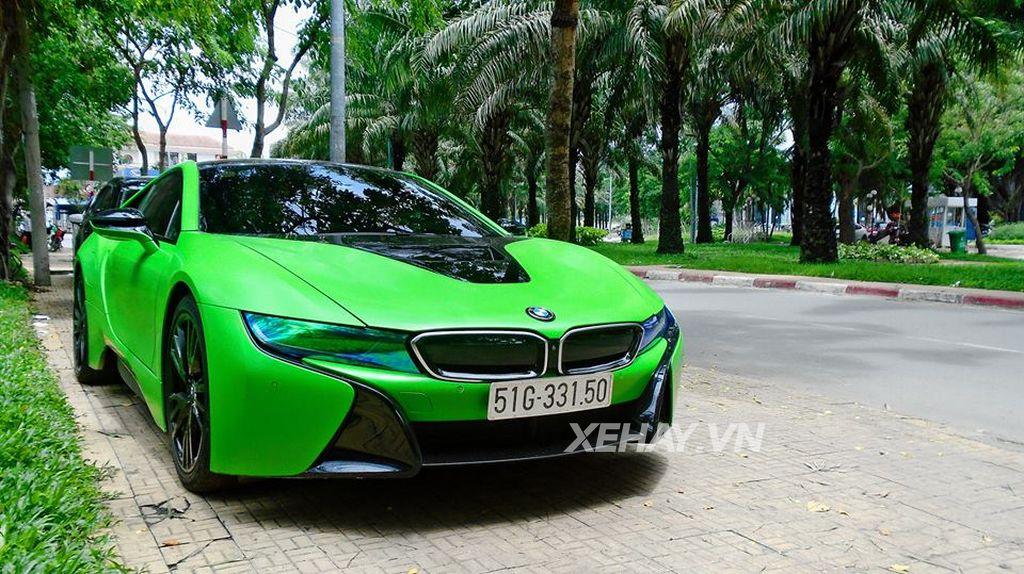 Số lượng BMW i8 tại Việt Nam đã xấp xỉ 30 chiếc. trong đó, mọi tại Sài Gòn
