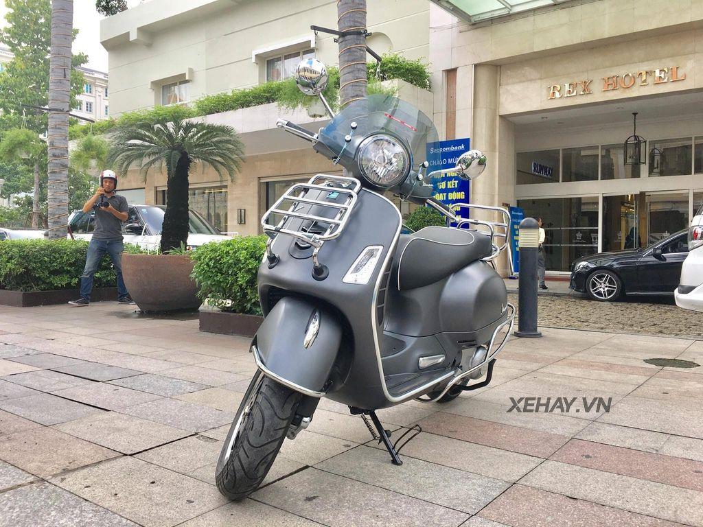 Vespa Gts 300 Chốt Gia 120 Triệu đồng Honda Sh300i Phải Giật Minh