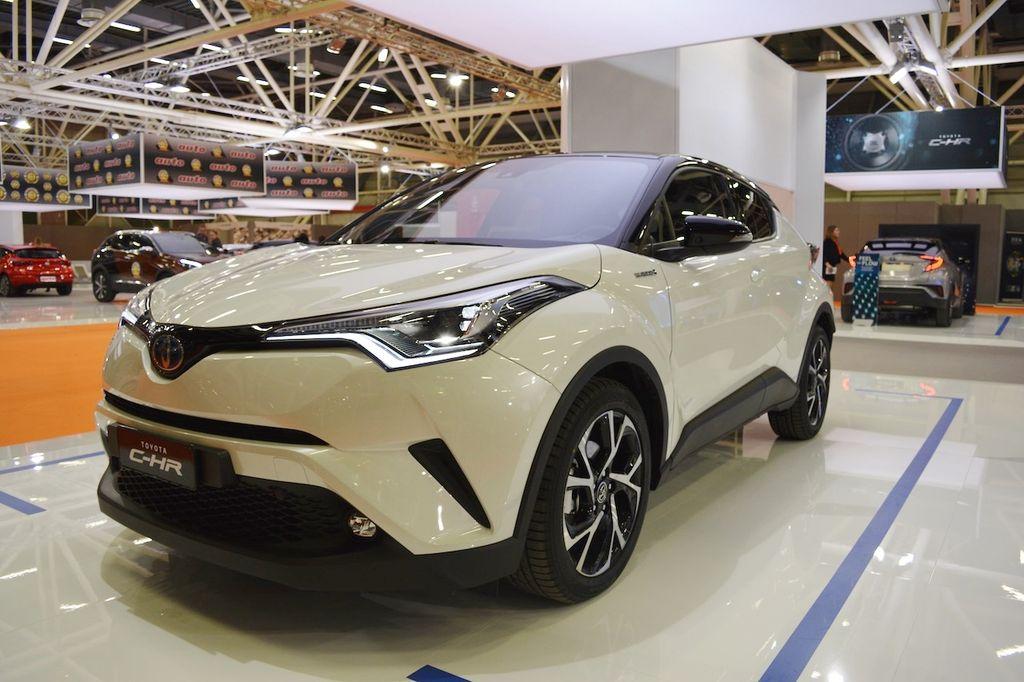 Toyota C-HR Hy-Power Concept sắp ra mắt có gì