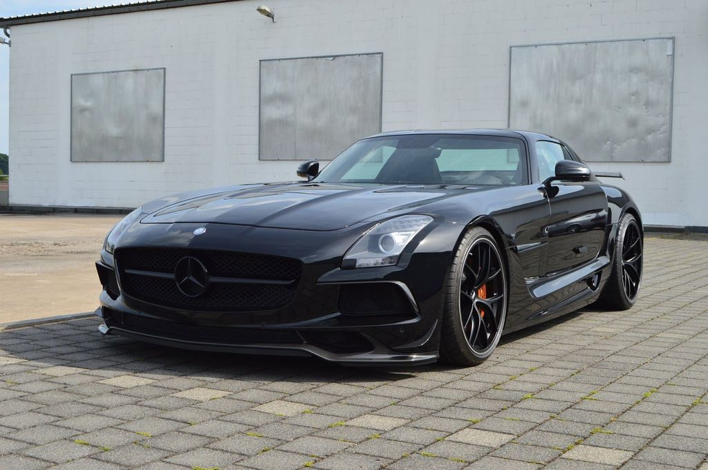 Inden Design thổi nguồn sống mới cho Mercedes-Benz SLS AMG - ảnh 3