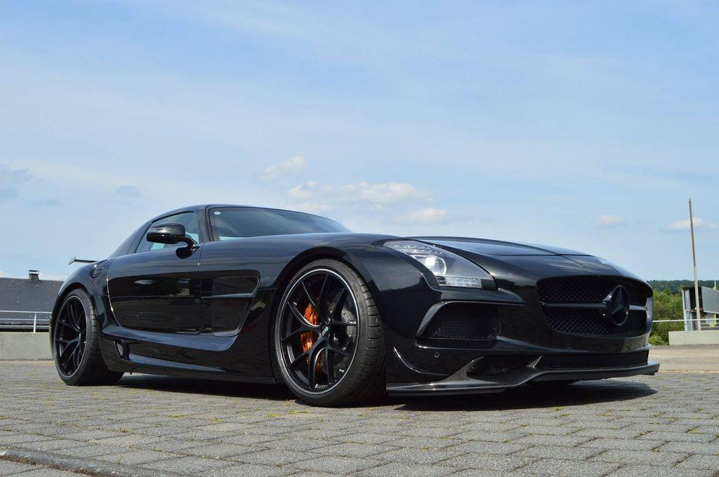 Inden Design thổi nguồn sống mới cho Mercedes-Benz SLS AMG - ảnh 5