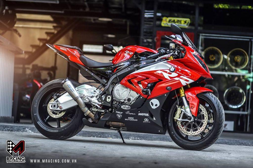 Chiêm ngưỡng vẻ đẹp khó cưỡng của siêu mô tô BMW S1000RR - ảnh 3