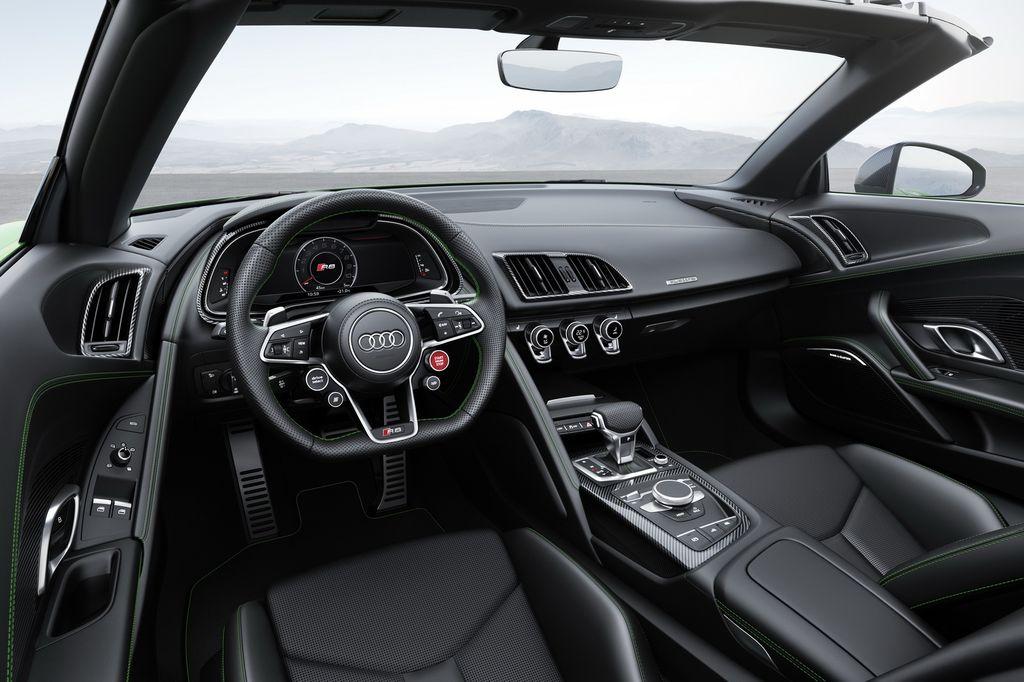 Chưa đầy 24 tiếng nữa Audi R8 V10 Plus Spyder sẽ chính thức trình làng thị trường Mỹ - ảnh 6
