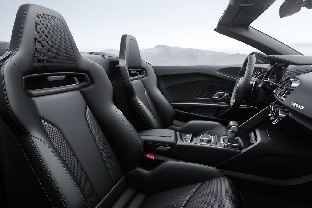 Chưa đầy 24 tiếng nữa Audi R8 V10 Plus Spyder sẽ chính thức trình làng thị trường Mỹ - ảnh 5