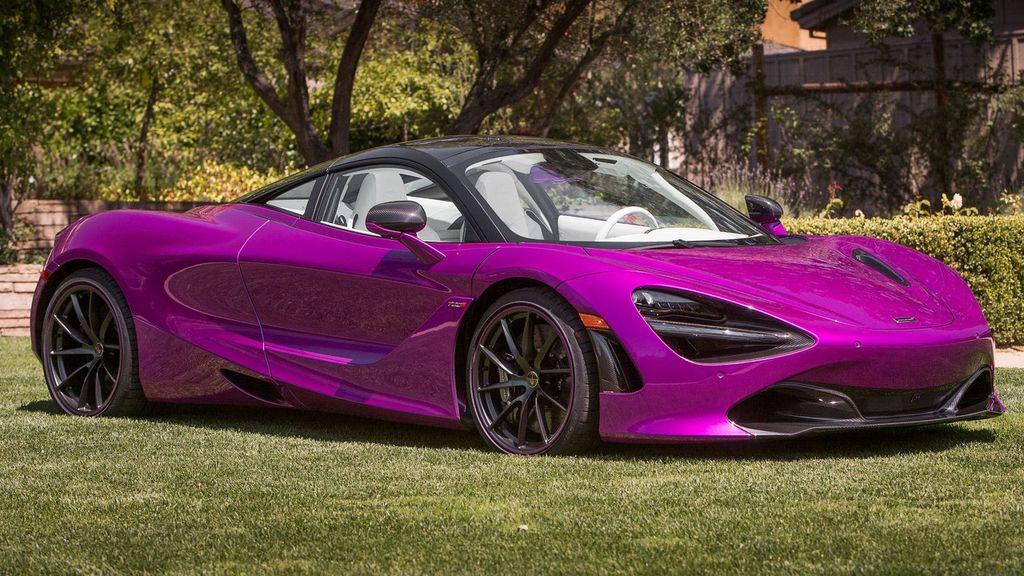 McLaren 720S dịu dàng hơn với bộ cánh màu tím mộng mơ - ảnh 2