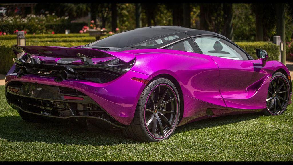McLaren 720S dịu dàng hơn với bộ cánh màu tím mộng mơ - ảnh 6