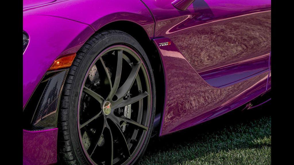 McLaren 720S dịu dàng hơn với bộ cánh màu tím mộng mơ - ảnh 4