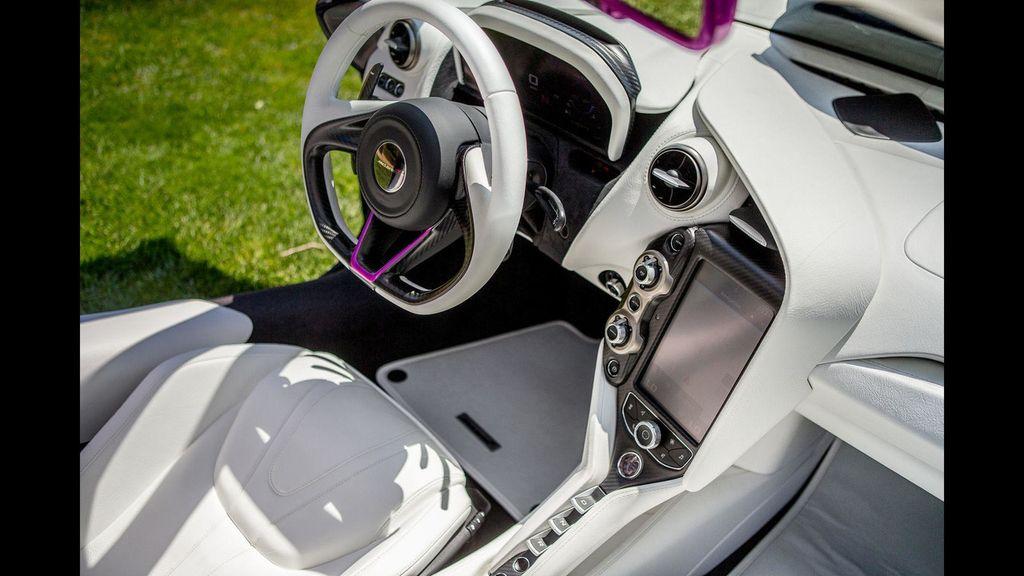 McLaren 720S dịu dàng hơn với bộ cánh màu tím mộng mơ - ảnh 5