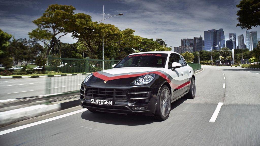 Chiêm ngưỡng Porsche Macan Turbo với đồ họa xe đua cực kỳ bắt mắt - ảnh 9