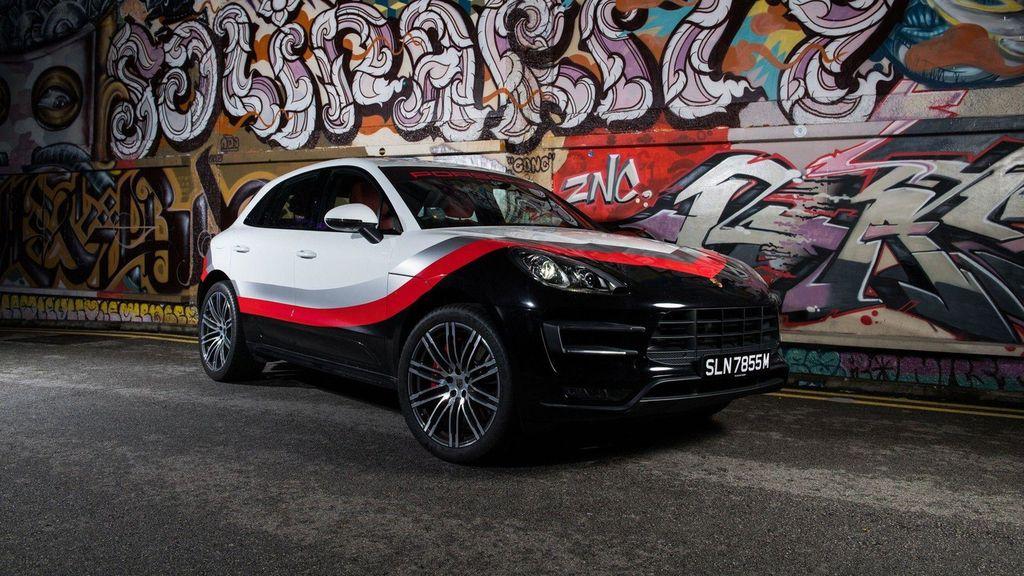 Chiêm ngưỡng Porsche Macan Turbo với đồ họa xe đua cực kỳ bắt mắt - ảnh 5