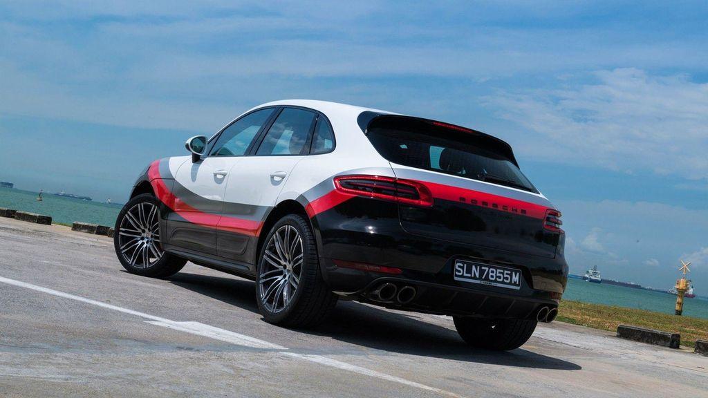 Chiêm ngưỡng Porsche Macan Turbo với đồ họa xe đua cực kỳ bắt mắt - ảnh 6